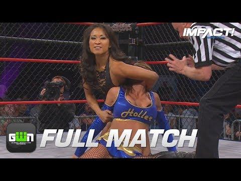 Gail Kim Vs Velvet Sky: FULL MATCH (TNA Lockdown 2012)   IMPACT Wrestling Full Matches