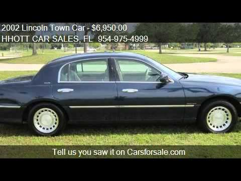 2002 Lincoln Town Car Executive For Sale In Deerfield Beach Youtube