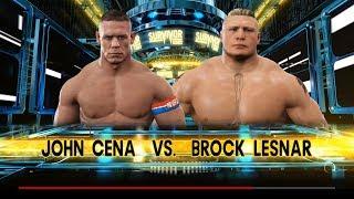 WW 2k17 John Cena Vs Brock Lesnar Extreme Rules Match [PC Let