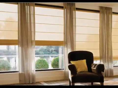 Persianas romanas elegantes y modernas for Estilos de cortinas modernas