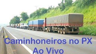 """Caminhoneiros no PX Ao Vivo (app Zello) - Canal """"Front Brasil Caminhoneiros"""""""