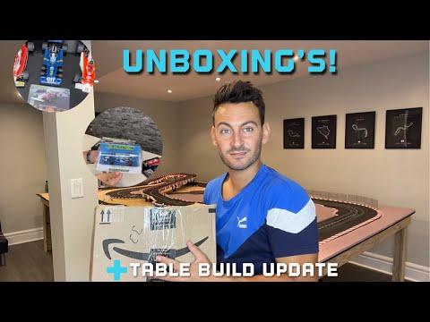 Slot Car Unboxing's + Carrera Slot Car Table Update!