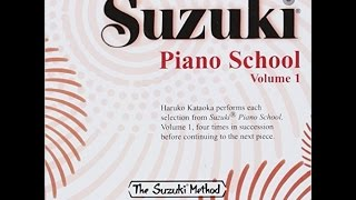 Suzuki Piano School Book 1 - Little Playmates (F.X. Chwatal