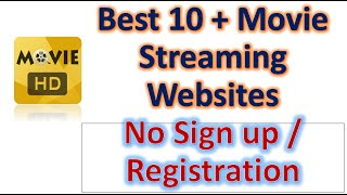 Free Movies Online No Sign up or Registration