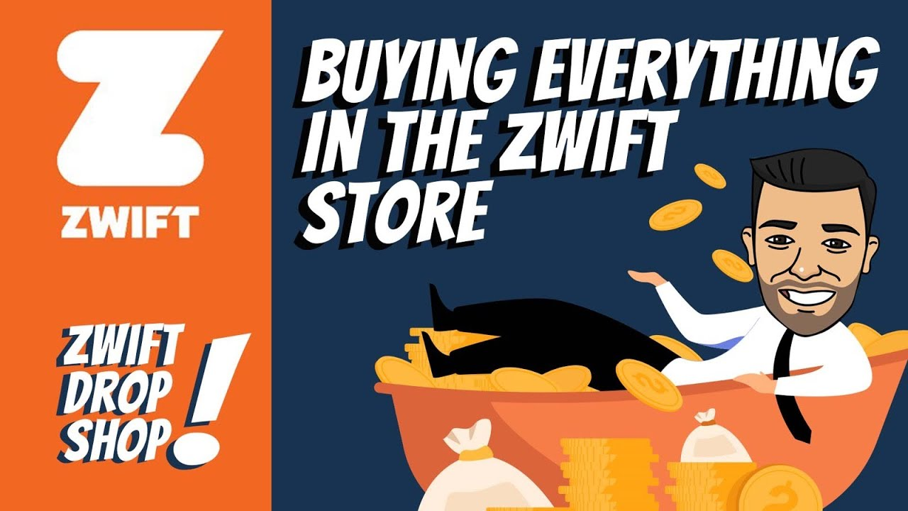 Buying Everything In The Zwift Store (Zwift Drop Shop)