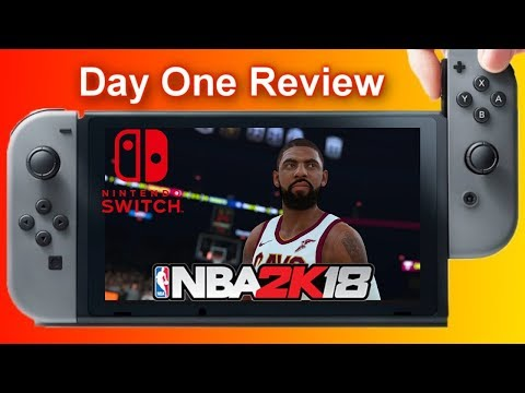 NBA 2K18 Nintendo Switch Day One Review (Please Watch Before You Buy) Storage Problems