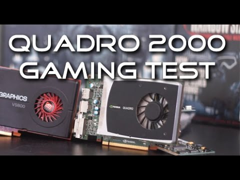 Quadro 2000 Benchmarksin the $120 Gaming PC