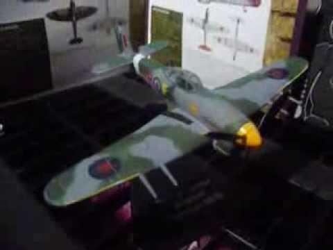 The D Day Landings Hawker Typhoon Mk 1b WW2 WAR PLANE Atlas Editions