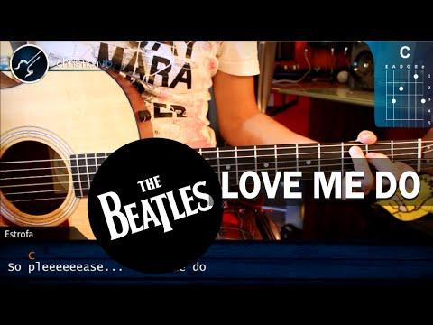 "Cómo tocar ""Love Me Do"" de The Beatles en Guitarra (HD) Tutorial COMPLETO - Christianvib"