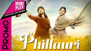 Anushka Sharma, Diljit Dosanjh Promote Phillauri. On Miniplex - Latest Bollywood Movies 2017