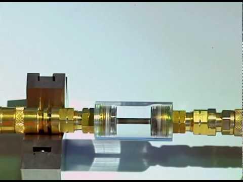 IBEDA Flashback Demonstration Device Mini DMFL For Flashback Arrestors EN730