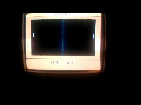 Atari 2600 PONG full game