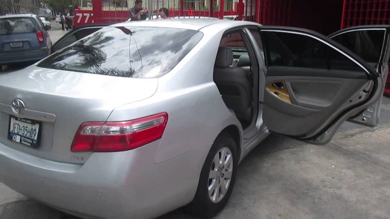 Toyota Camry 2007 Xle V6 6at Soloautos Mx Youtube Rh Com Review Transmission