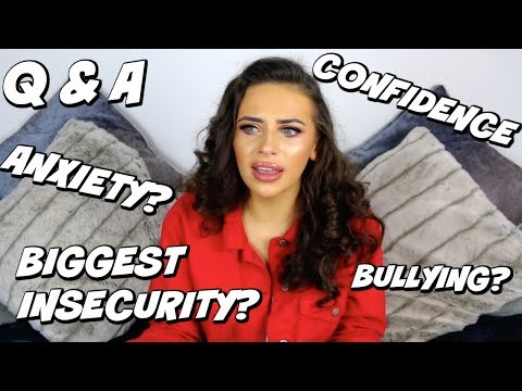 ANXIETY? BIGGEST INSECURITY? BULLYING? DEEP Q&A