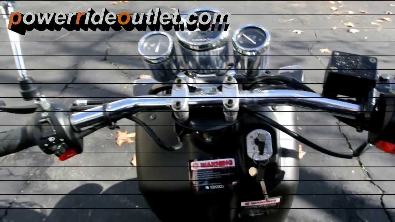 Ice Bear Maddog 150cc Rockus Clone Scooter Video by Power Ride Outlet