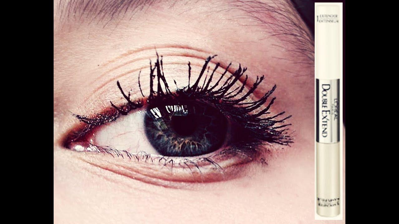 L'Oréal Double Extend Mascara | mascara review & demo - YouTube