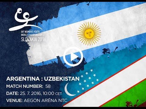 ARGENTINA : UZBEKISTAN