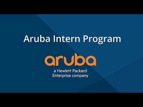 Start Your Career: Aruba Interns