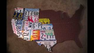 License Plates Map