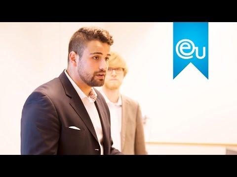 EU Alumnus Julian Baladurage-Marquardt on Entrepreneurship
