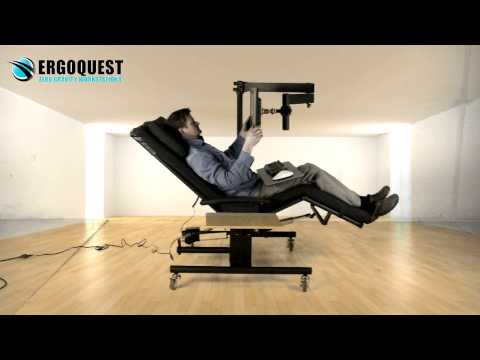 Zero Gravity Chair 1a with Monitor Arm