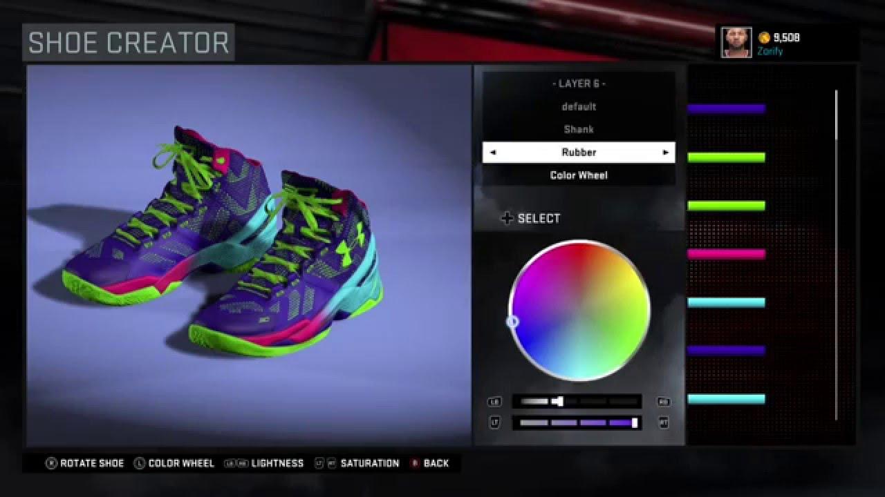 805c3cd9d1c4 NBA 2K16 Shoe Creator - Under Armour Curry 2