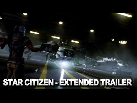 Star Citizen Extended Trailer - Squadron 42 [Cry Engine 3]