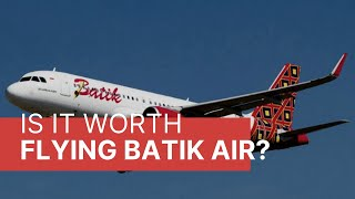 Is it worth flying Batik Air? Jakarta to Bali - Economy Class Review