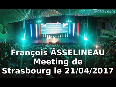 Meeting de François ASSELINEAU à Strasbourg le 21/04/2017