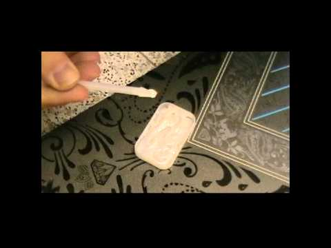 HowTo repair Snowboard TopCover damages
