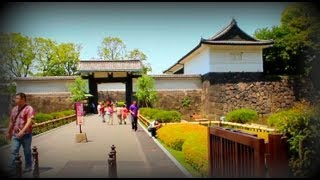 Tokyo's Imperial Palace grounds (HD)
