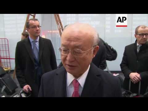 IAEA chief Amano on his visit to Iran