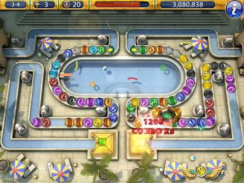 Luxor 2 HD Challenge of Horus Stage 3-4 Bathing in the Sacred Pool |