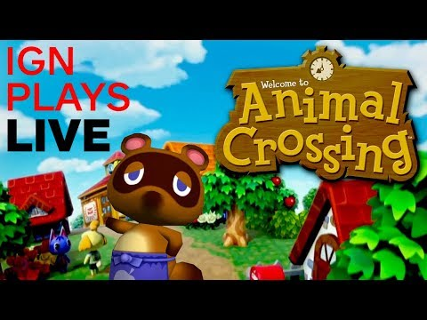 Animal Crossing In The Morning With Brian and Max - IGN Plays Live!