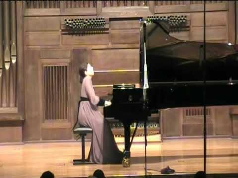 Sofya Melikyan performs 'La Lugumbre Gondola II' by F. Liszt