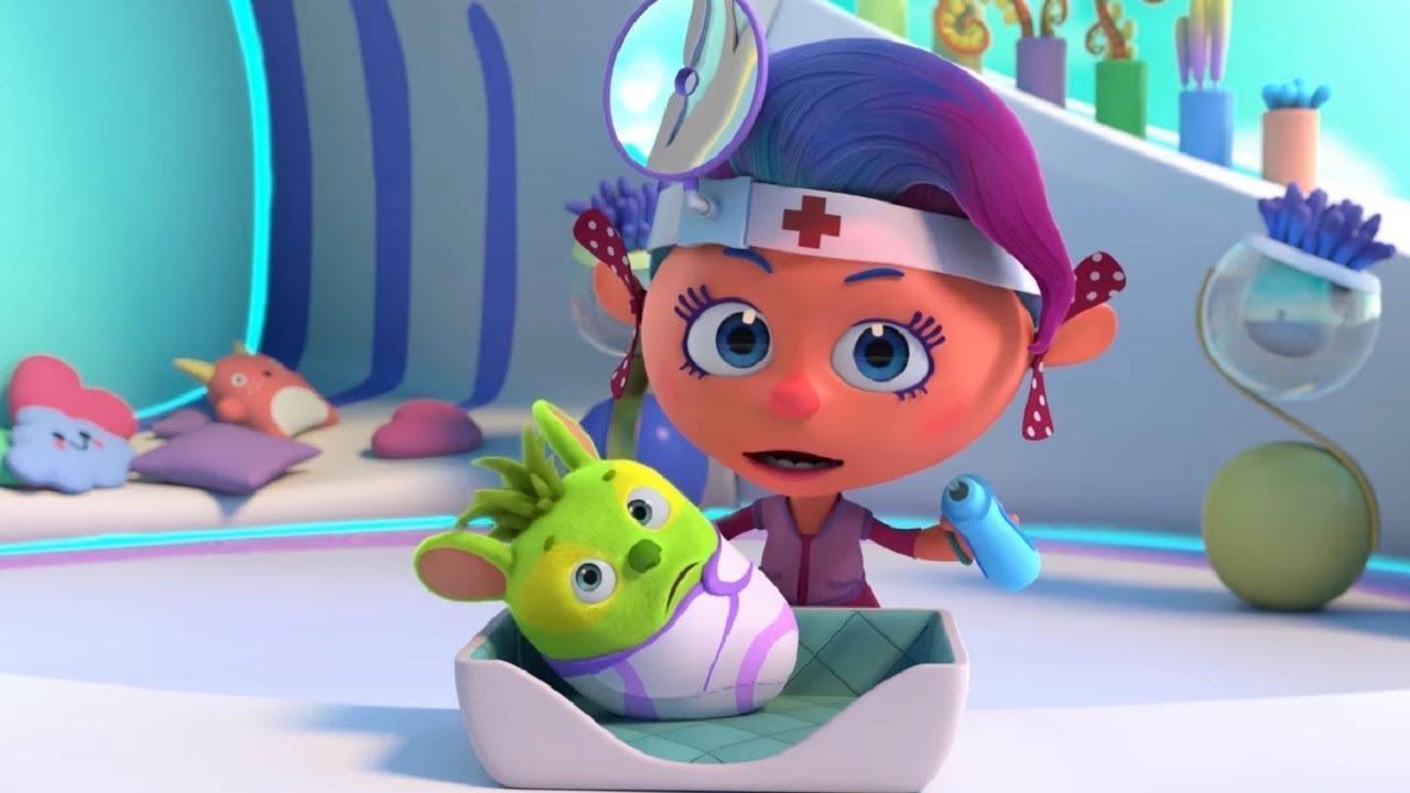 Вирус - Неуверинус – Монсики – мультфильм для детей – Чувства и эмоции