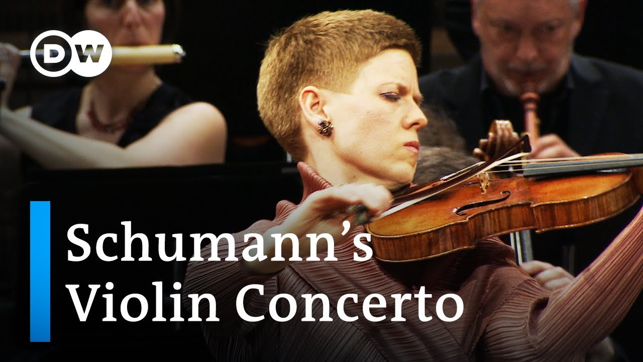 """Isabelle Faust and the Freiburger Barockorchester play Robert Schumann's """"Violin Concerto"""""""