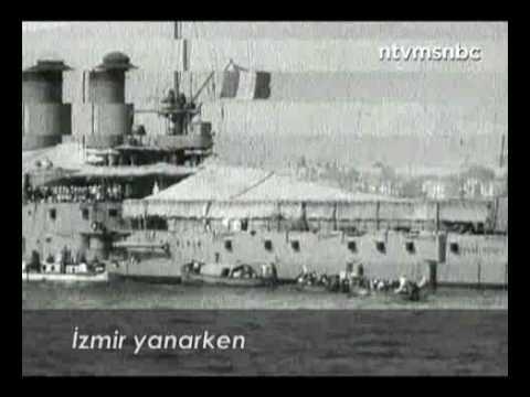The Great Fire of Izmir ( Smyrna ) . Footage 1922 ( Buyuk Izmir Yangini Goruntuleri )