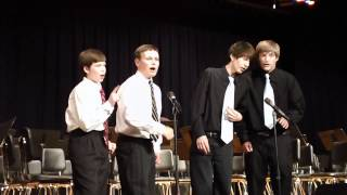 Tamenators Barbershop Quartet-