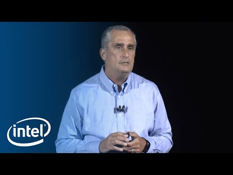 CES 2018 Keynote by Intel's CEO, Brian Krzanich
