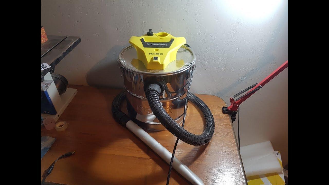 Parkside Tools Parkside Vacuum Cleaner Pas 1200 C2 Unboxing