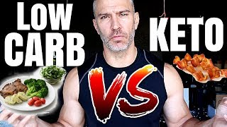 Low Carb Diet VS. Ketogenic Diet
