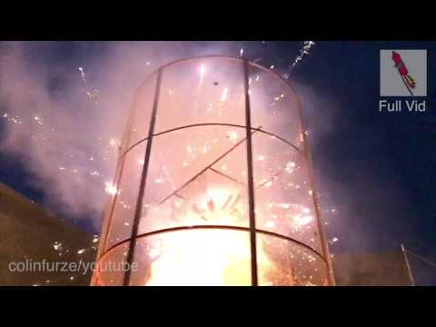Download Youtube: Fire Tornado Firework Explosion SLOW MOTION