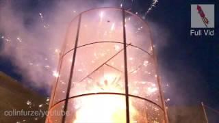 Fire Tornado Firework Explosion SLOW MOTION