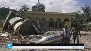 زلزال يضرب أندونيسيا