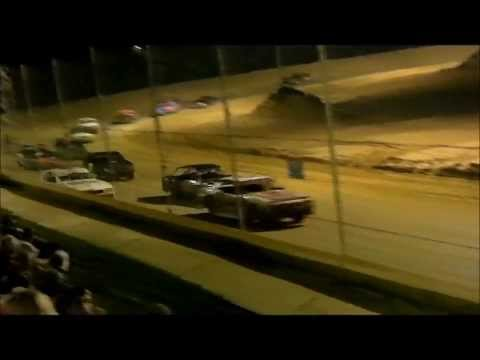 Street Stock Feature Race at Northwest Florida Speedway Sept 6, 2013