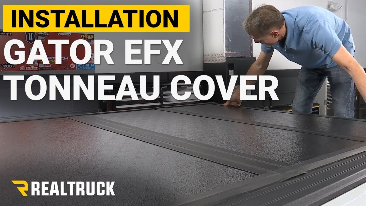 How To Install Gator Efx Hard Fold Tonneau Cover On A 2017 Ford Raptor Youtube