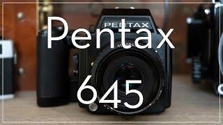 Pentax 645 Medium Format Film Camera