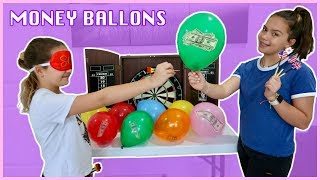 throwing-a-dart-money-balloons-challenge-sister-forever