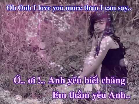 Lời Tình Yêu   Lời Việt Tân Thanh   More Than I Can Say   Leo Sayer